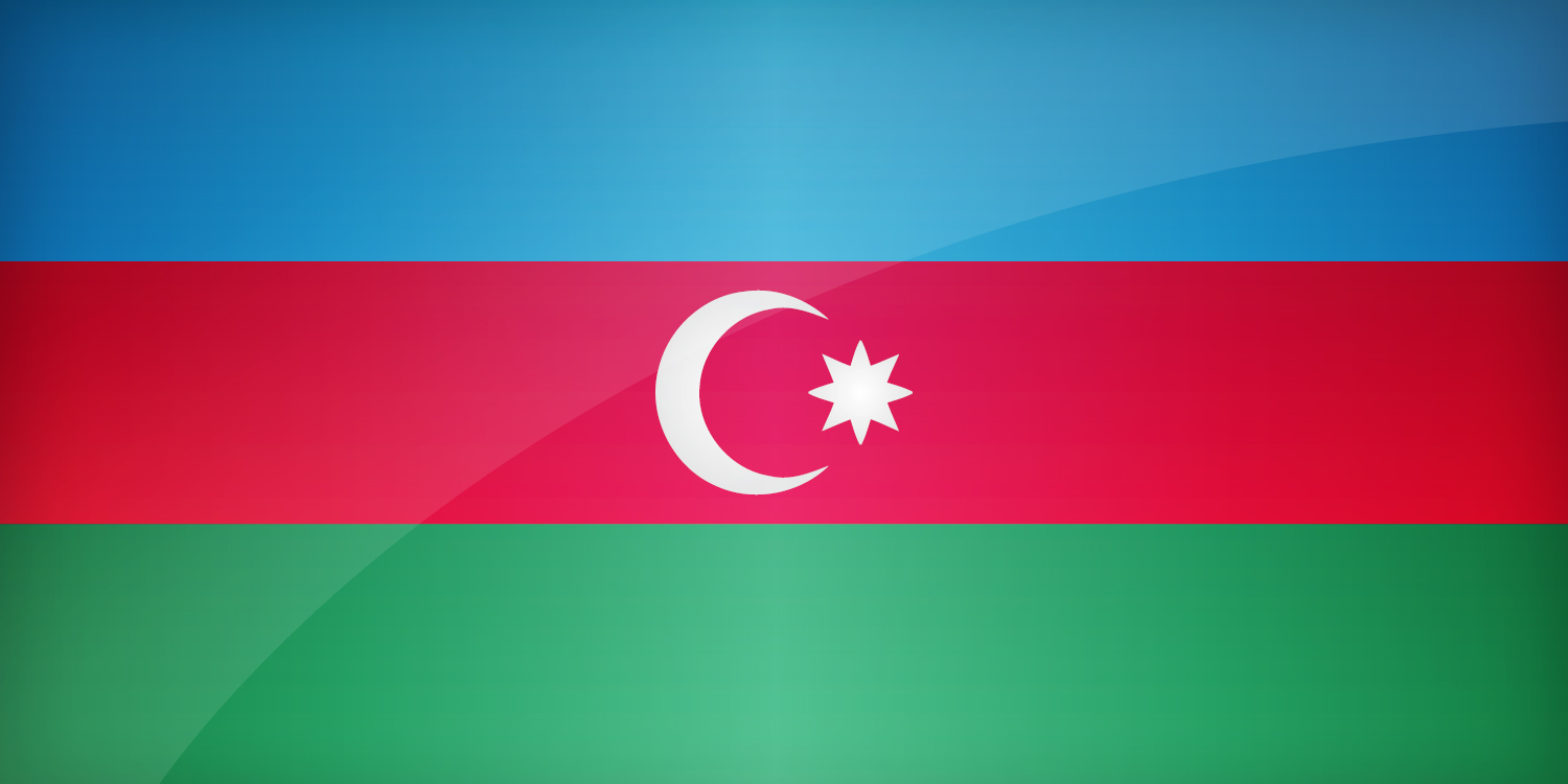 Azerbaijan National Flag Square