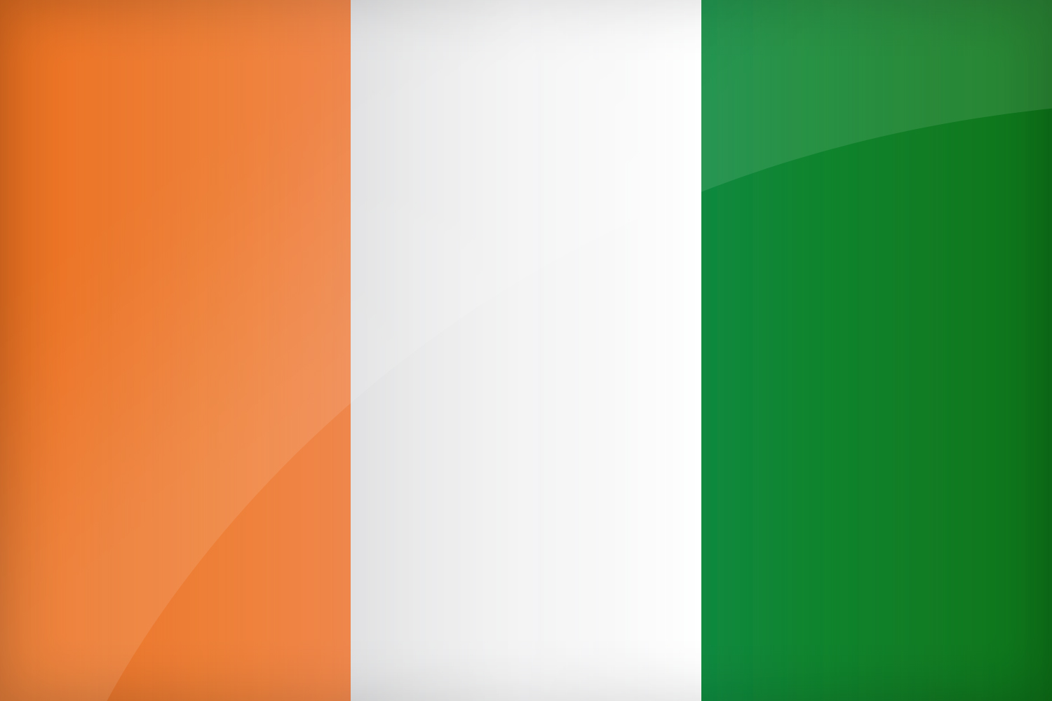 Image result for Cote d'Ivoire country Flag