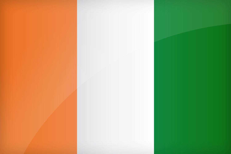 flag of cote divoire