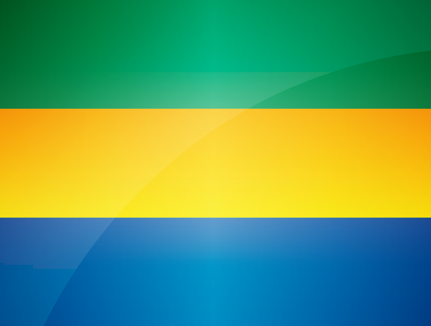 Flag Gabon | Download ...H Letter Design