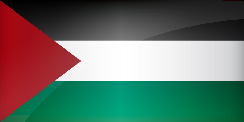 Palestine Flag Coloring Pages Learny Kids