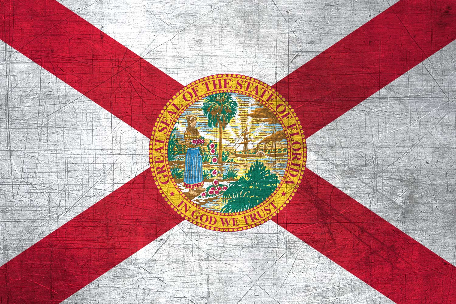 Floridian flag metal flag of florida download it for free high resolution flag of florida metal texture voltagebd Image collections