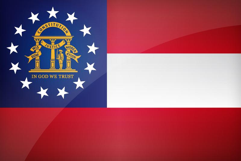 Flag of Georgia - Download the official Georgia's flag