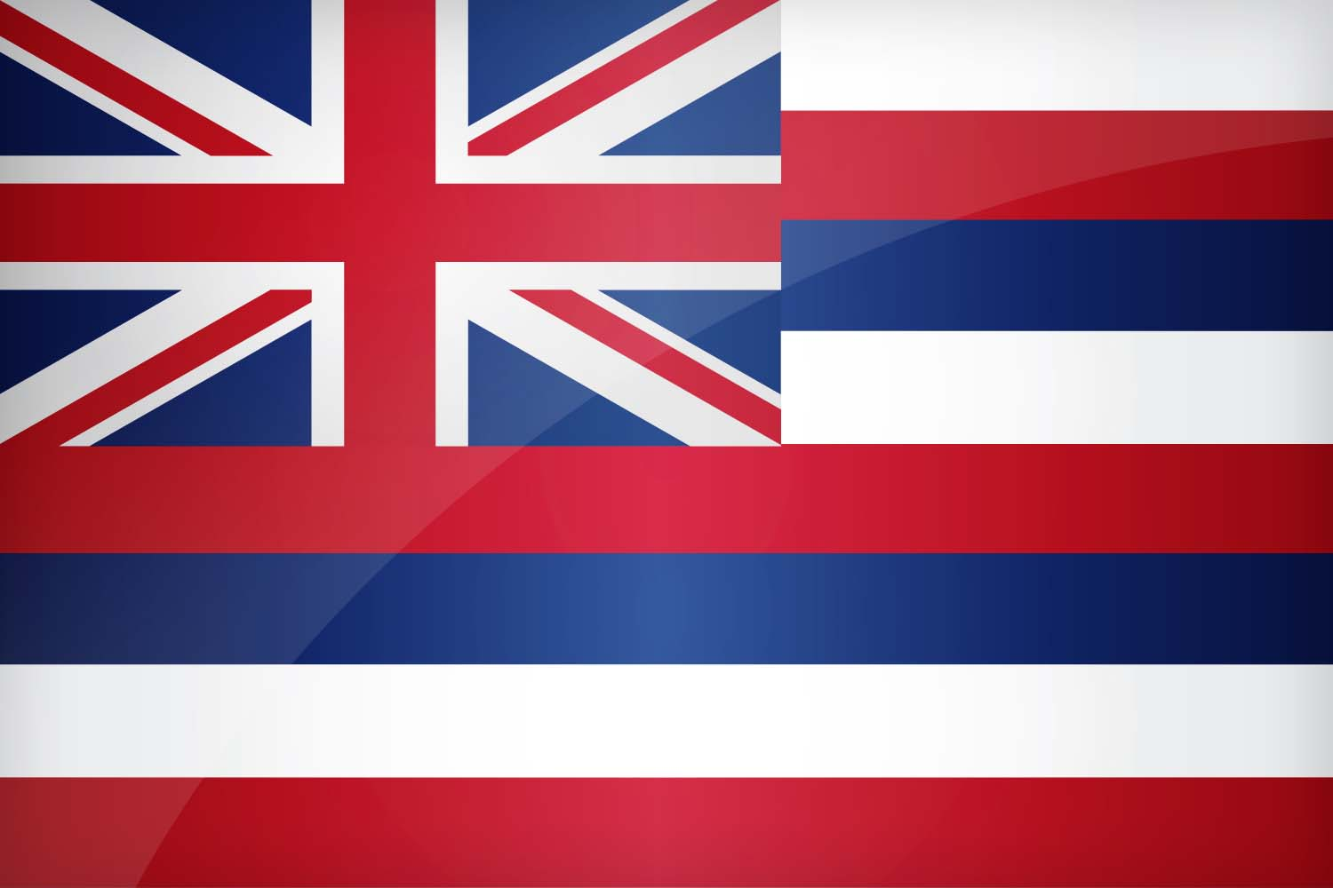 Flag of hawaii download the official hawaii 39 s flag for The flag is