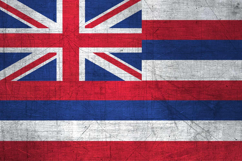 Hawaiian Flag Metal Flag of Hawaii  Download it for free