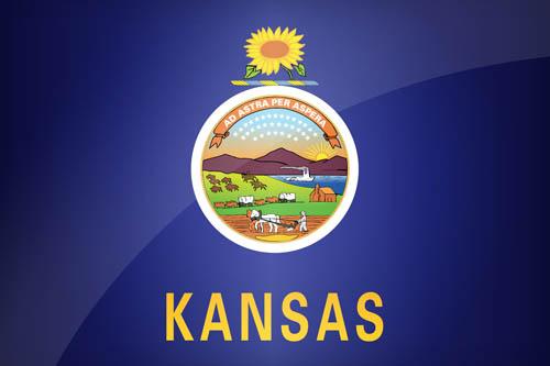 Kansas US State Flag - Description & Download this flag