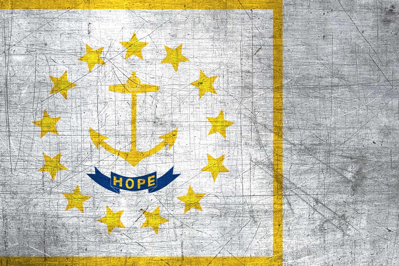 Rhode Islander Flag Metal Flag Of Rhode Island Download It For Free