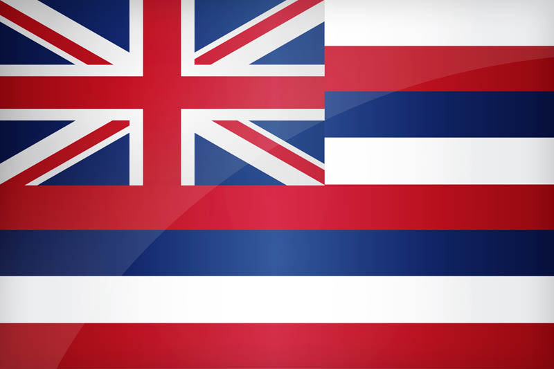 Flag of Hawaii - Download the official Hawaii's flag