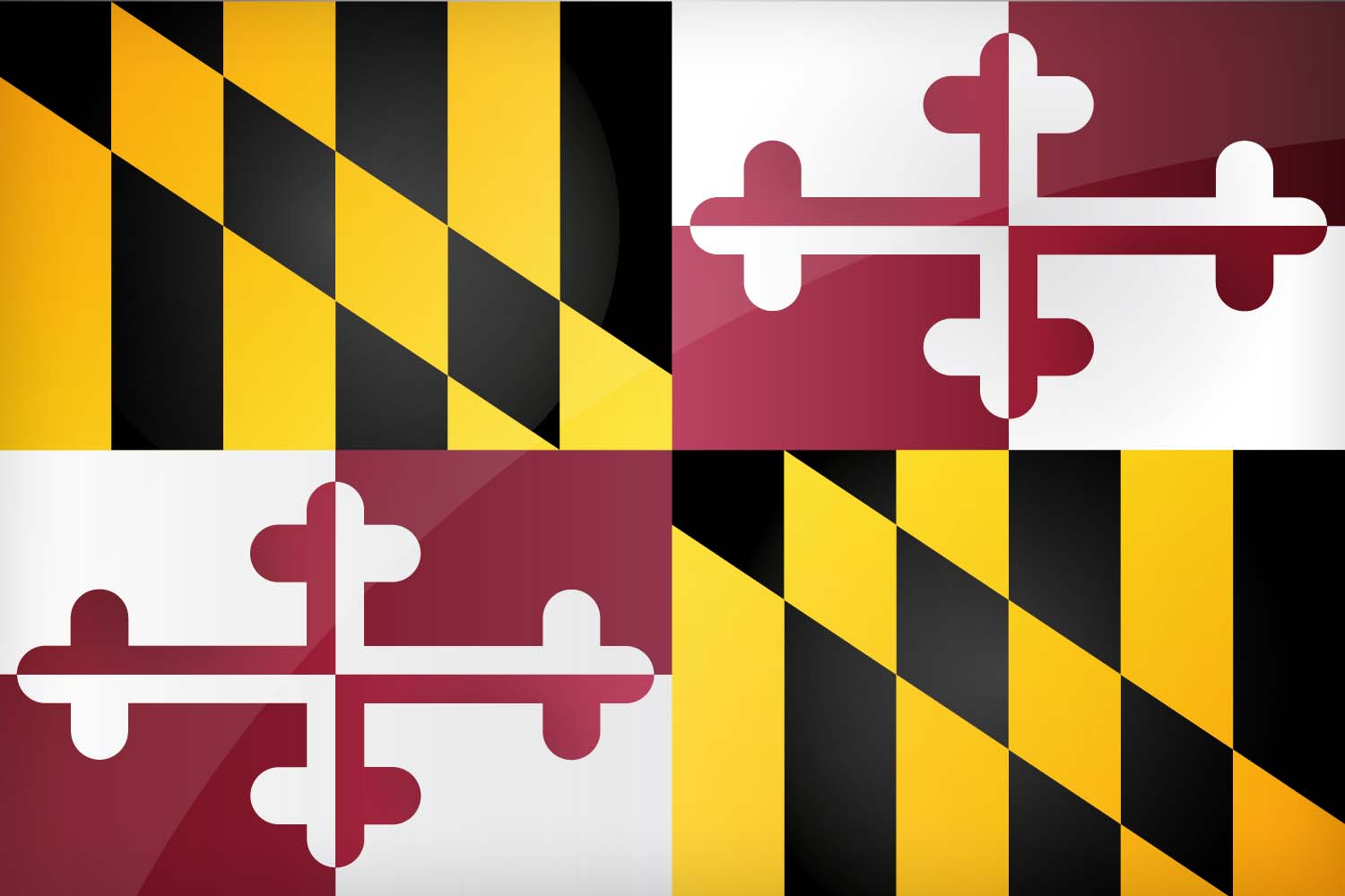 High Resolution Flag: Download The Official Maryland's Flag