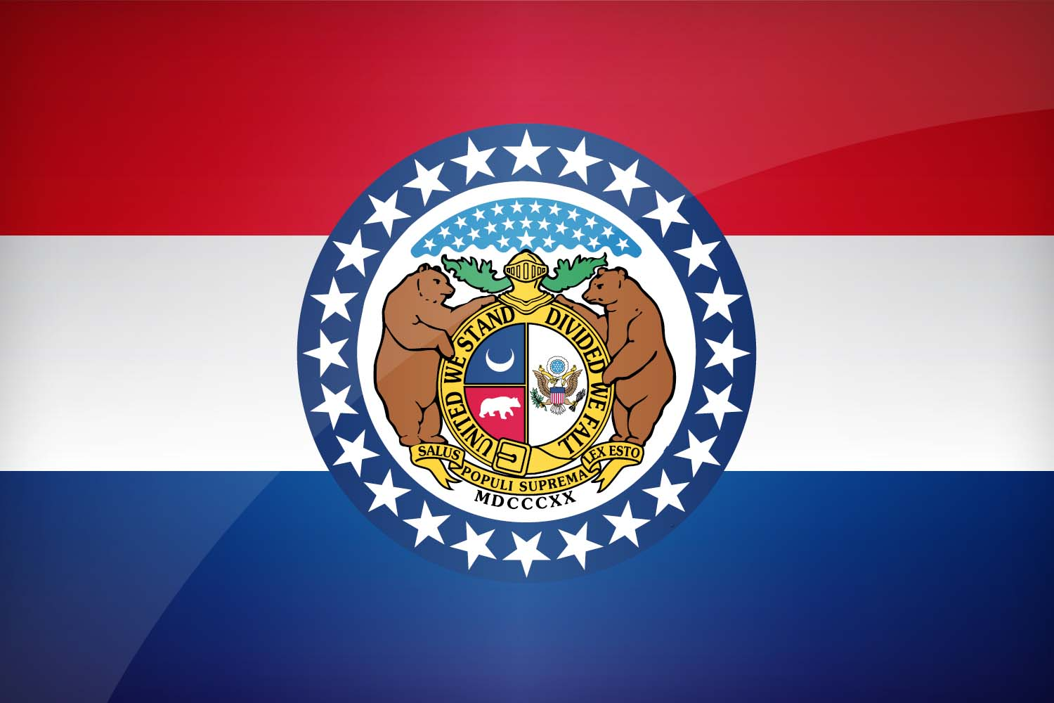 Flag of Missouri - Download the official Missouri's flag